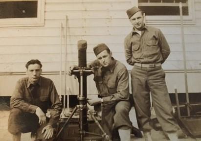 Bertrum Wheeler and his Mortar Crew Section