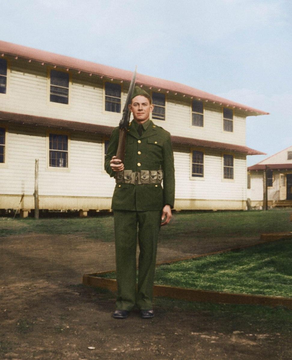 Glenn Beem in 1943