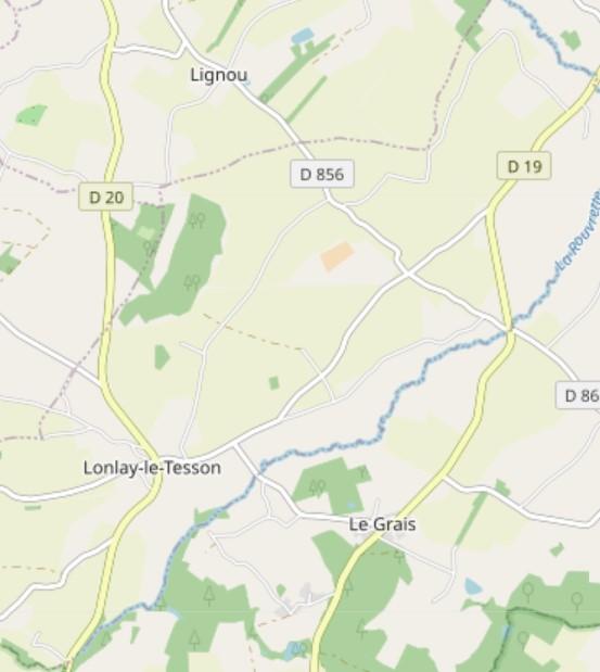 Le Grais map detail