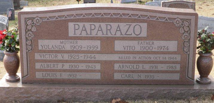Paparazo family grave