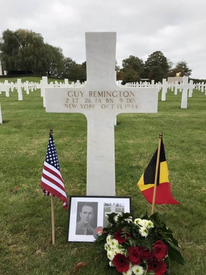 Guy Remington Grave.