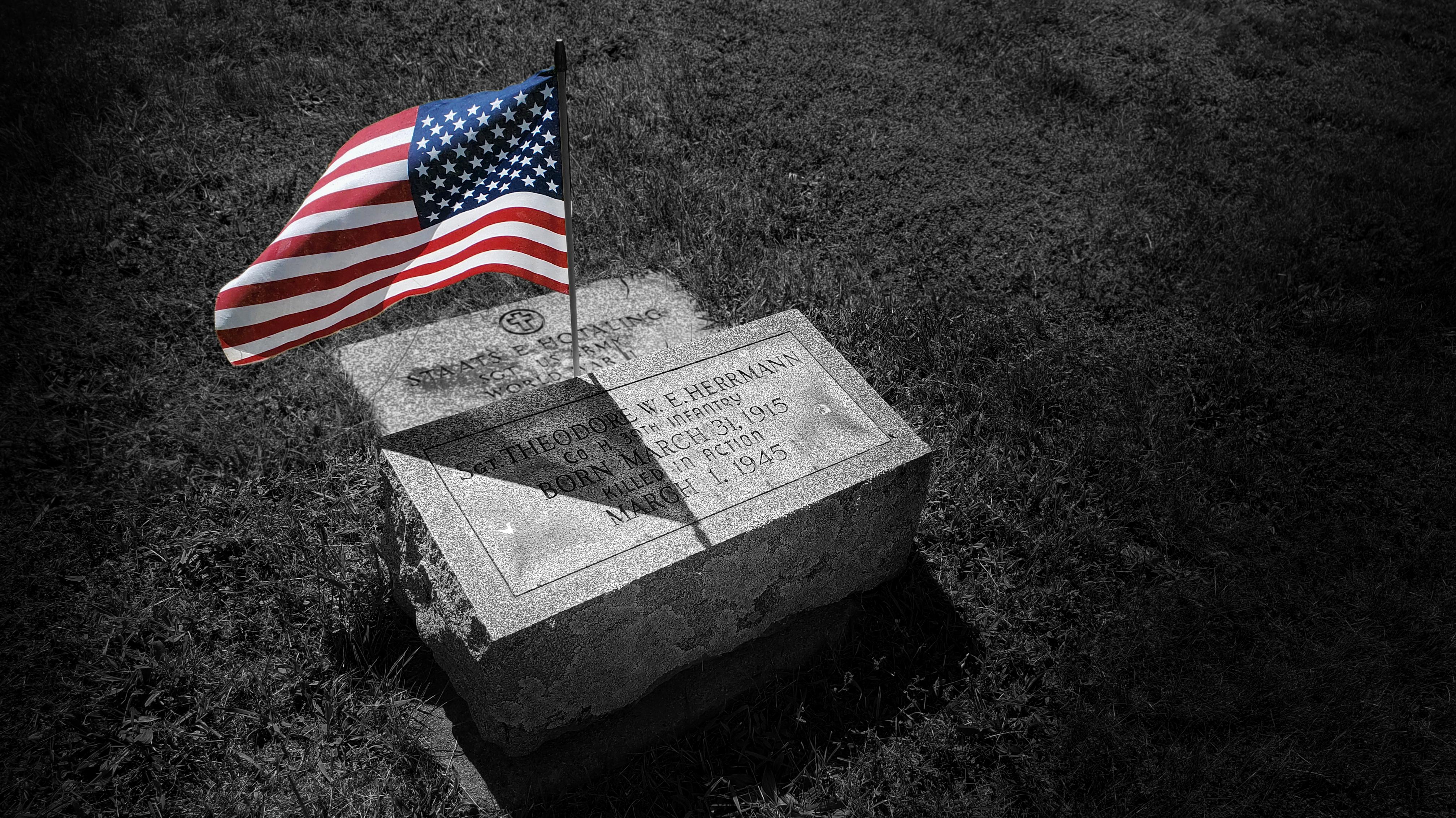 herrmann memorial day grave
