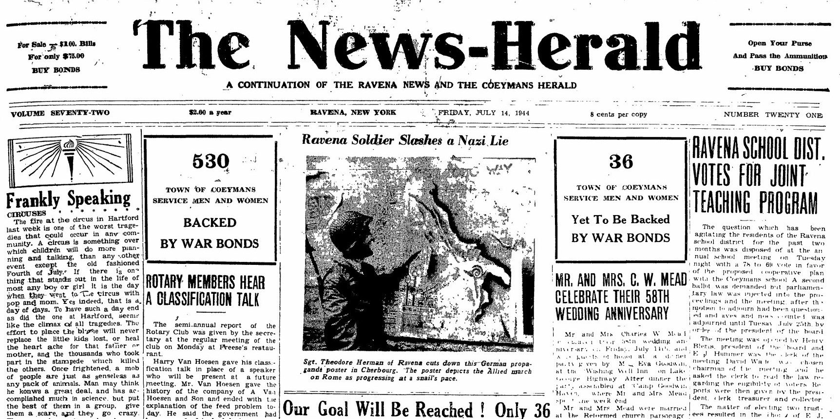 The News-Herald -Ravena soldier